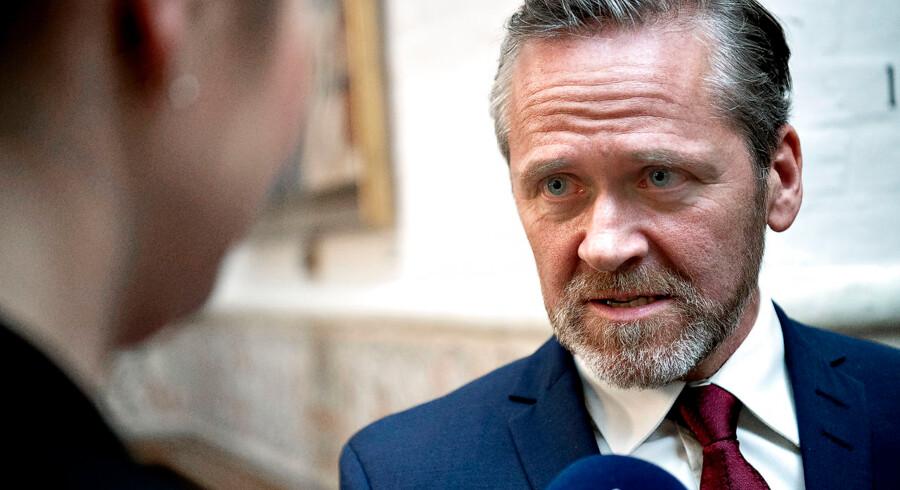Foto af Udenrigsminister Anders Samuelsen.