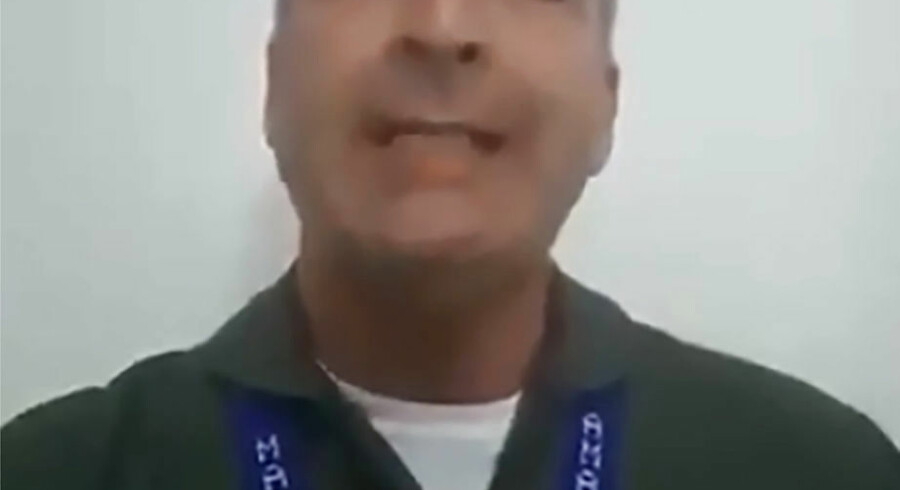 """Video grab taken from handout video released by Venezuelan Air Force High Command General Francisco Yanez and published on social media on February 2, 2019 of himself recognizing self-declared Venezuelan acting president Juan Guaido and disavowing socialist leader Nicolas Maduro. - Appearing in full uniform ahead of rival rallies in the capital Caracas for the two leadership challengers, Yanez said he was rejecting Maduro's """"irritating and dictatorial authority."""" While Guaido has garnered much international backing for his claim, the backbone of Maduro's support comes from Venezuela's military high command. (Photo by HO / Venezuela's Air Force General Francisco Yanez / AFP) / RESTRICTED TO EDITORIAL USE - MANDATORY CREDIT """"AFP PHOTO / VENEZUELAN AIR FORCE HIGH COMMAND GENERAL FRANCISCO YANEZ / HO"""" - NO MARKETING NO ADVERTISING CAMPAIGNS - DISTRIBUTED AS A SERVICE TO CLIENTS"""