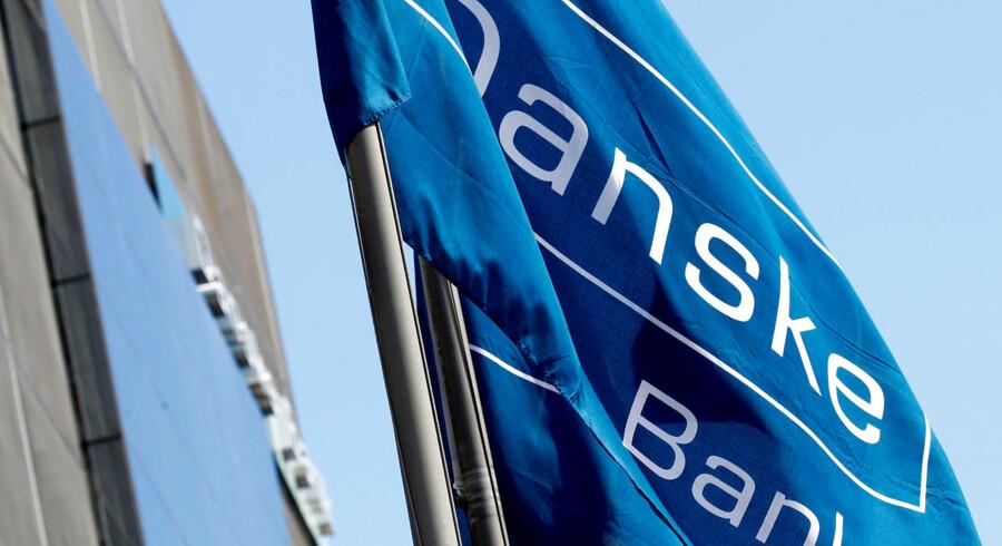 Danske Bank kom i fredags med regnskab, der viste, at overskuddet dykkede med seks mia. kroner i 2018. Arkivfoto: Reuters/Ints Kalnins/Ritzau Scanpix
