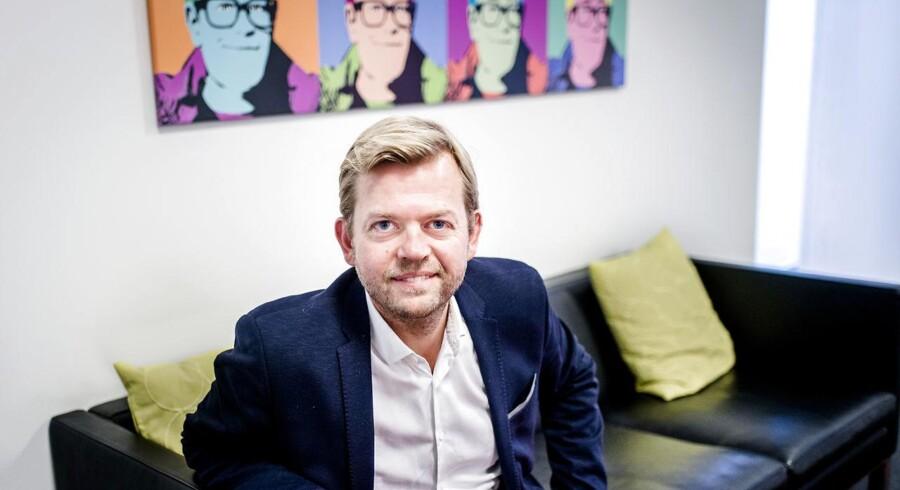 TV-leverandøren Boxers topchef, Ulf Lund, har sidste år fordoblet sit overskud. Dermed kan forretningen snart udvides. Arkivfoto: Simon Skipper, Ritzau Scanpix