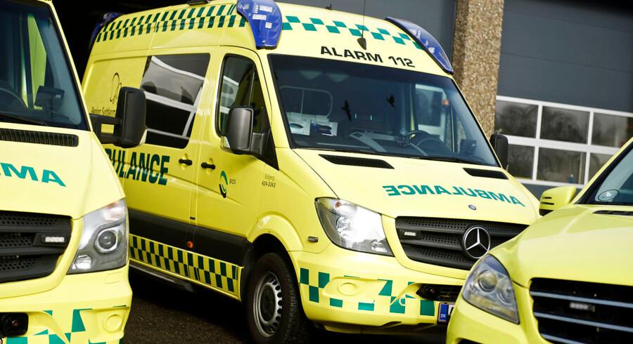 Ambulanceselskabet Bios overtog tilbage i 2015 en stor del af ambulancekørslen i Region Syddanmark.
