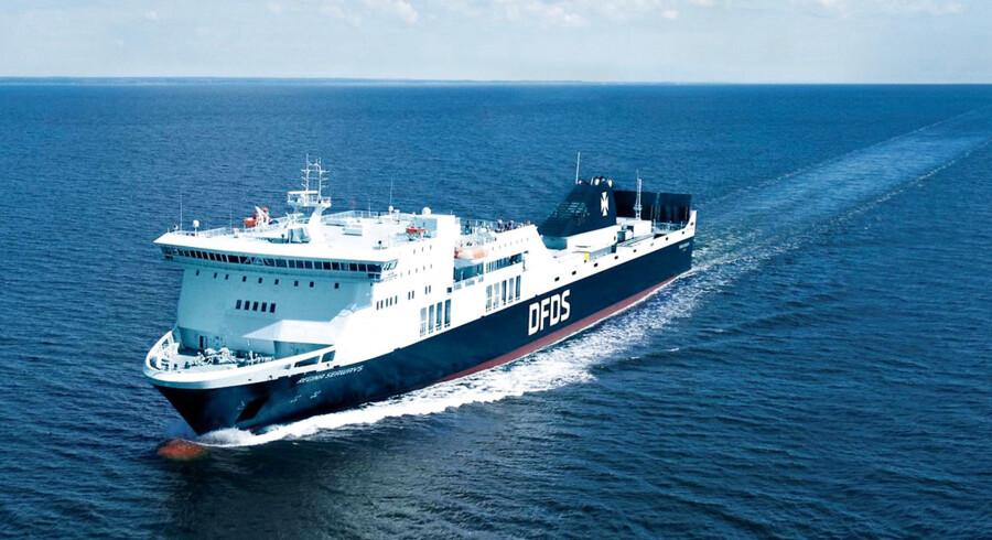 Foto af Regina Seaways. DFDS. Foto: DFDS/handout/Ritzau Scanpix)