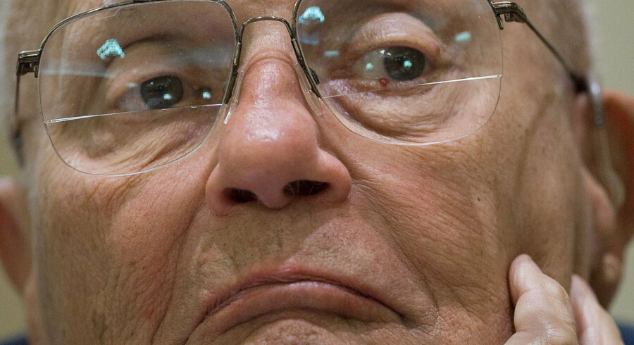 Den demokratiske politiker John Dingell døde torsdag i hjemstaten Michigan - 92 år. Paul J. Richards/Ritzau Scanpix