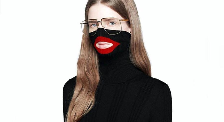Gucci har undskyldt og erkendt, at trøjen kan virke stødende og fornærmende.