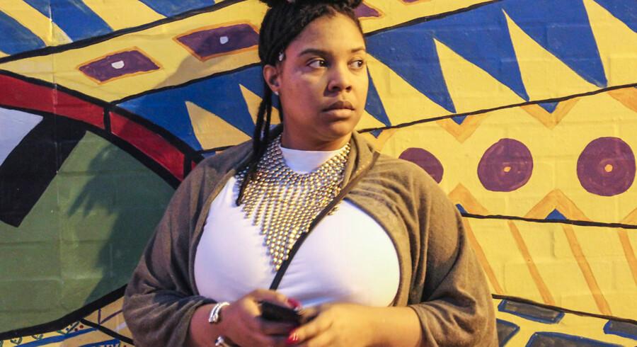 Francesca Leigh-Davis har en travl erhvervskarriere, men bruger alligevel meget tid på at kæmpe for sortes rettigheder. Racismen er dybt indlejret i hendes hjemstat, Virginia, mener hun. Staten spillede en central rolle i både slaveperioden og i den amerikanske borgerkrig.