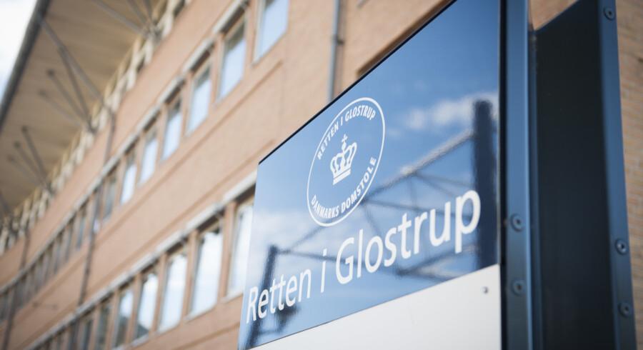 Ved Retten i Glostrup blev det mandag afgjort, hvordan en 32-årig skal straffes for at have været mellemleder i et kompleks om indsmugling af kokain og heroin. (Arkivfoto) Anne Bæk/Ritzau Scanpix