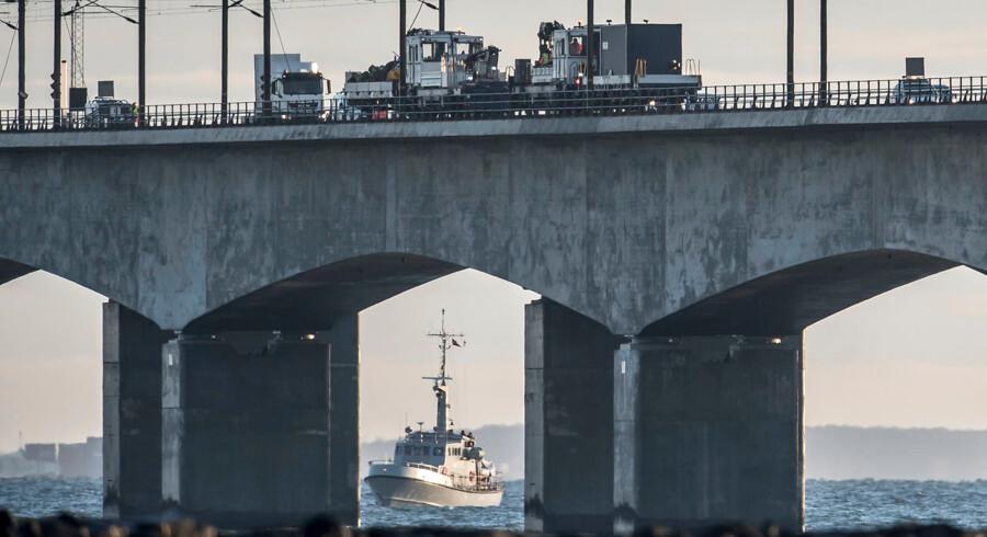 Ved togulykken på Storebæltsbroen 2. januar 2019 blev otte personer dræbt, og 16 kom til skade. Et passagertog blev ramt af dele fra et godstog.