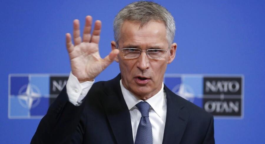 Rusland kan endnu nå at rette ind og overholde INF-traktaten, siger Natos generalsekretær, Jens Stoltenberg, efter at USA for nylig har taget skridt til at forlade aftalen, hvilket tager seks måneder.