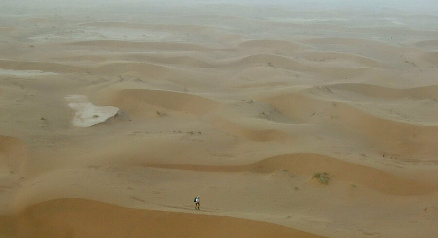 Sahara er verdens største ørken. Pierre Verdy/Ritzau Scanpix