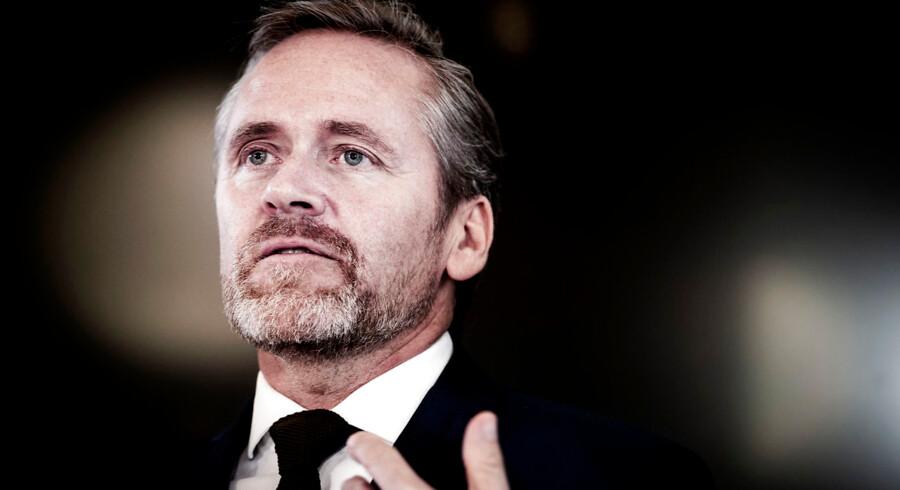 Udenrigsminister Anders Samuelsen (LA) er ikke overbevist af udsigten til strammere EU-regler, der vil komme til at gælde for Nord Stream 2.