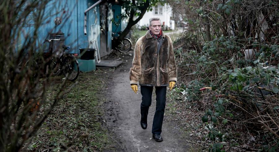 »Det er simpelthen lykkedes for Christiania – indtil videre – at undgå gentrificering,« siger 72-årige Ole Lykke Andersen om udviklingen på Christiania i forhold til resten af København.
