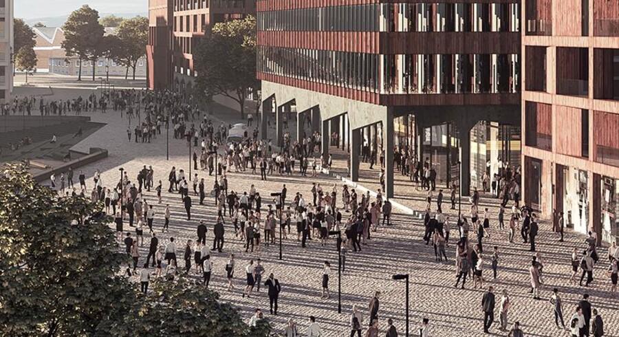 Europahafenkopf skal med inspiration fra Tegnestuen COBEs populære projekt Papirøen udgøre et nyt og levende samlingspunkt i den tyske havneby Bremen. Byggeriet vil kombinere byens historiske renæssancehuse og moderne industrikvaterer til en storstilet bymidte med kontorer, boliger, fleksible transportpunkter og parkeringshuse.