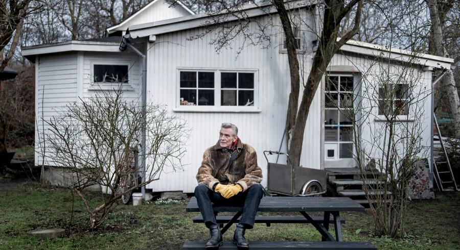 »Vi taler om ældreboliger. Vi taler om ungdomsboliger. Vi taler ikke om flygtningeboliger,« siger Ole Lykke Andersen, som er én af Christianias talsmænd.