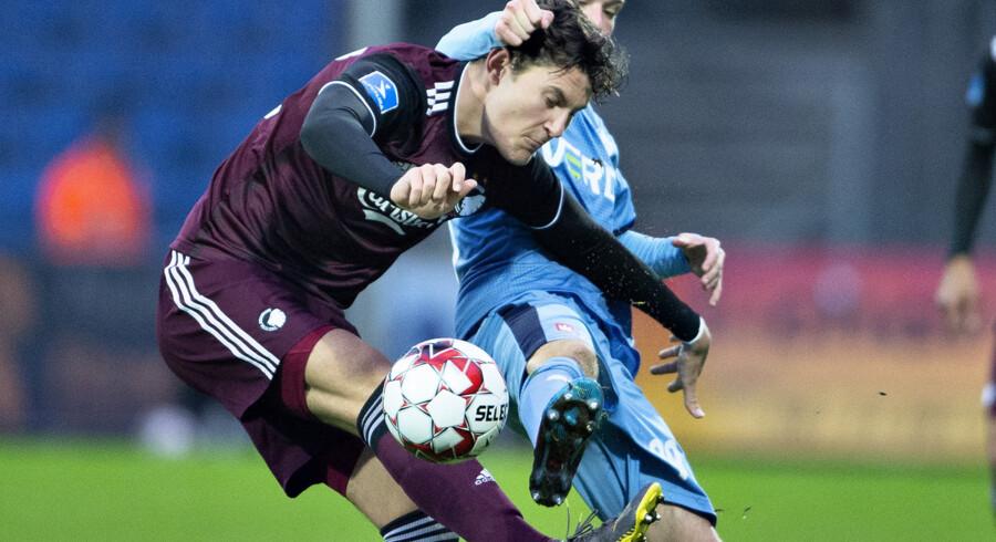 FC København besejrede Randers med 2-0 i en kamp, hvor randrusianerne tilspillede sig en del målchancer. Henning Bagger/Ritzau Scanpix