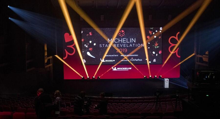 Den nordiske Michelin Guide, Michelin Guide Nordic Countries 2019 præsenteres i Musikhuset i Aarhus.