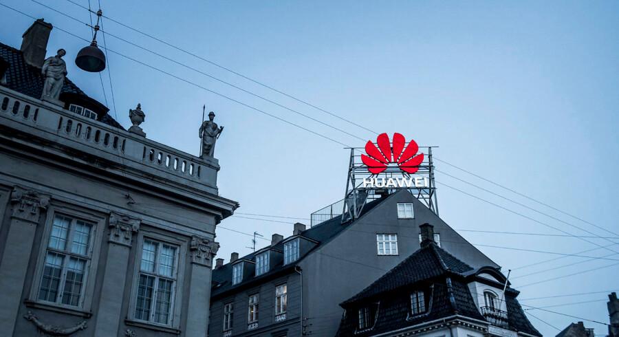 Selv om forsvarsminister Claus Hjort Frederiksen (V) tidligere har udtrykt sin bekymring over for telegiganten Huawei, bruger Forsvarsministeriet alligevel Huawei-udstyr til kommunikation.