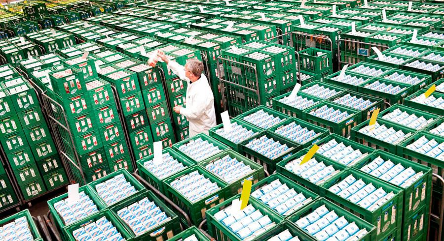 Arla sælger blandt andet mælk, skyr og yogurt