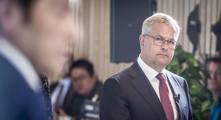 Topchef i A.P. Møller - Mærsk Søren Skou har masser af udfordringer.
