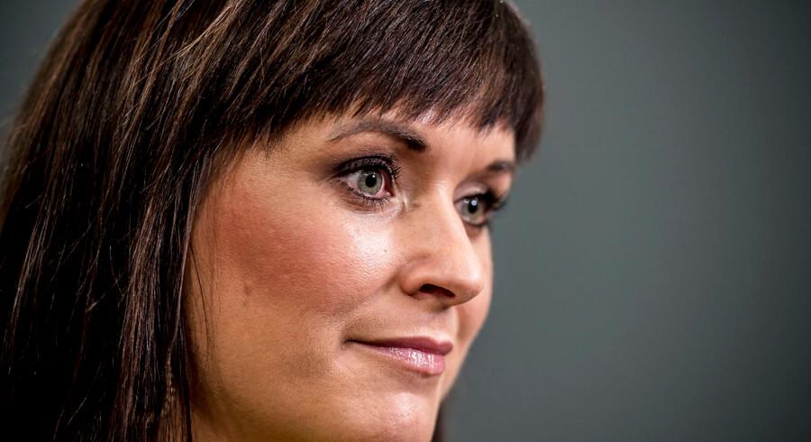 Innovationsminister Sophie Løhde er godt tilfreds med fremdriften i udflytning af statslige arbejdspladser.