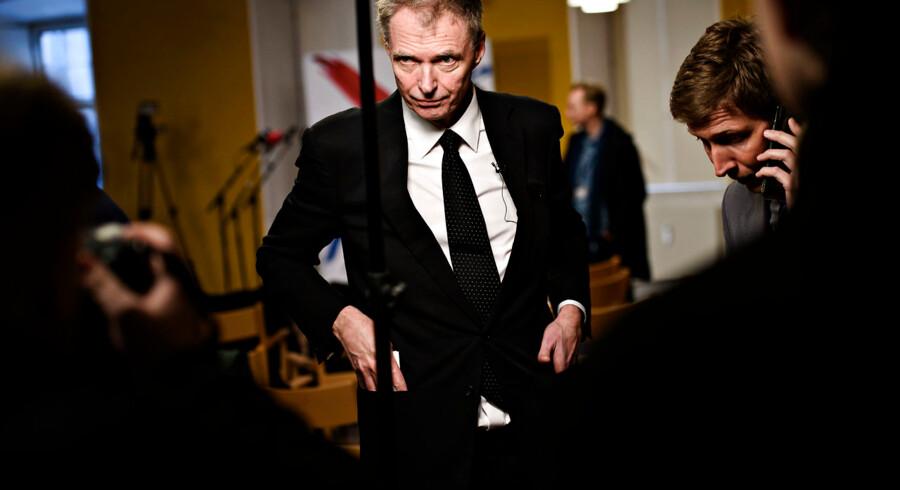 Klaus Riskær Pedersen holdt pressemøde i Vartov i København tirsdag den 19. februar 2019, fordi Partiet Klaus Riskær Pedersen havde opnået det krævede antal stillere og nu officielt er godkendt af Økonomi- og Indenrigsministeriet til at stille op til folketingsvalg.
