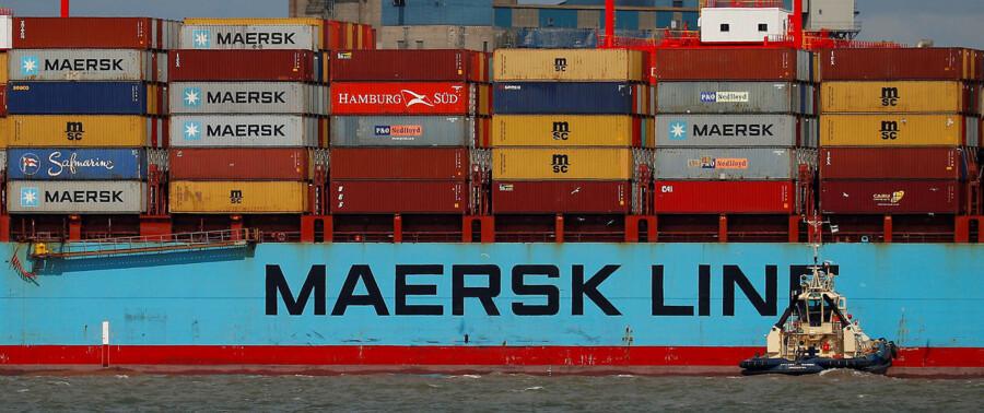 Beskedne forventninger til 2019 gav stort kursfald for både Mærsks A- og B-aktie torsdag.