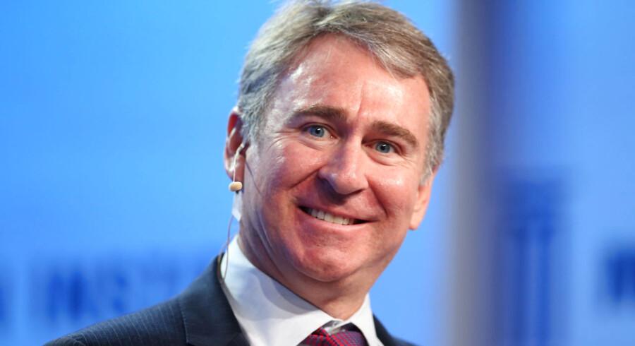 Ken Griffin, der står bag hedgefonden Citadel, er blandt verdens bedst lønnede fondsforvaltere og er USAs 45. rigeste mand ifølge Forbes.