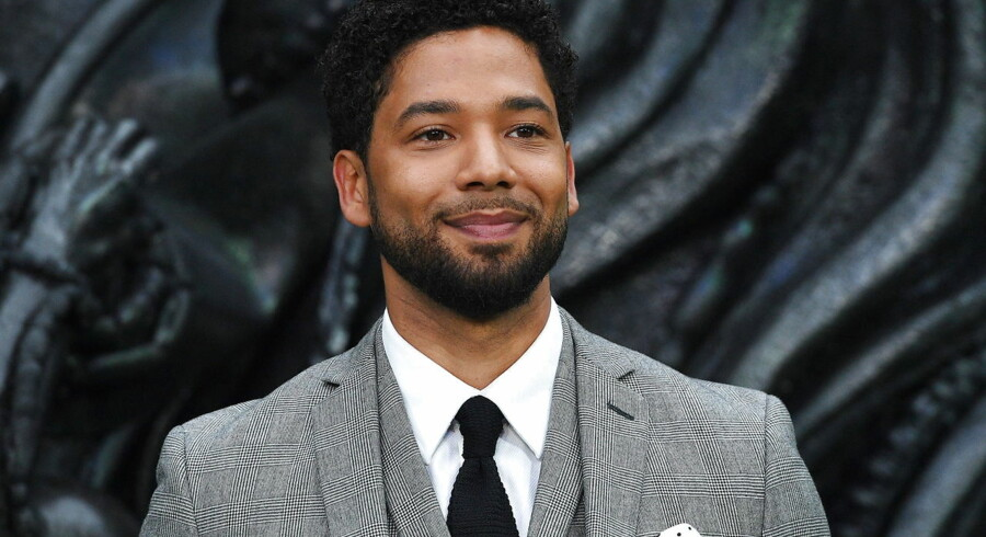 epa07376484 (FILE) - US actor/cast member Jussie Smollett arrives for the world premiere of 'Alien: Covenant' in London, Britain, 04 May 2017. Media reports on 17 February 2019 state that Chicago police have released two men arrested in connection with an alleged attack on Empire actor Jussie Smollett. EPA/FACUNDO ARRIZABALAGA *** Local Caption *** 53497615