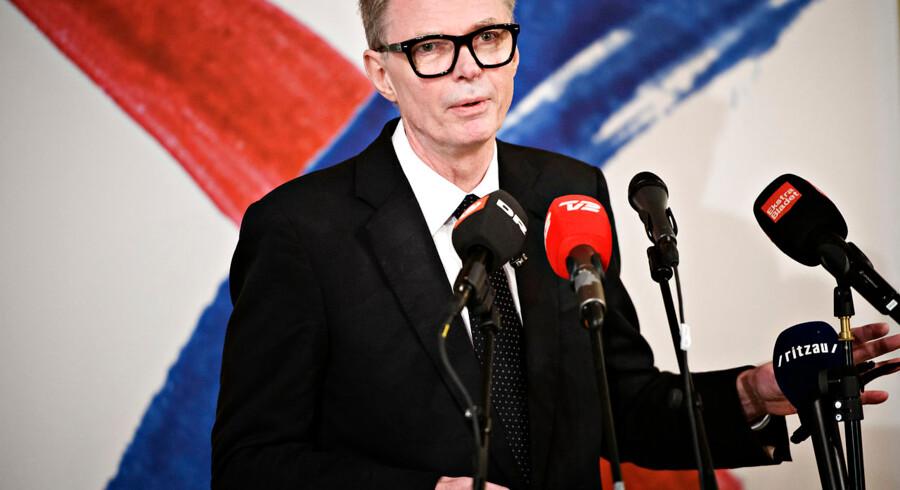 Arkivfoto. Det var ikke en fejl at offentliggøre 50-årige Christina Asklund som folketingskandidat for partiet, siger Klaus Riskær Pedersen.