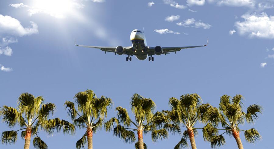 Undgå, business class, vælg lavprisselskaber, køb klimakompensation. Det er tre af de muligheder, du har for at flyve mere grønt.
