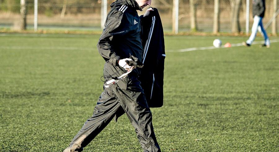 Allan Kuhn blev i denne uge fyret fra trænerposten i Hobro. Arkivfoto