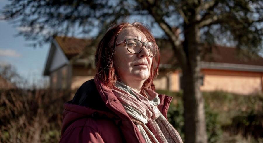 »Man går rundt i konstant alarmberedskab. Man kan aldrig slippe det, og det tærer,« siger Hanne Gade, hvis mand er blevet ramt af en stribe blodpropper de senere år.