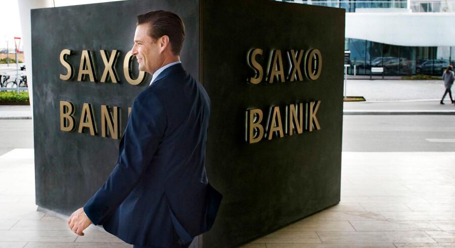 Direktør og ejer af Saxo Bank Kim Fournais har store ambitioner om at blive en stor spiller i bankverdenen inden for tre-fem år.