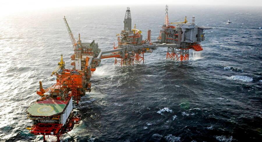 Norges oliefond led under blodbadet på aktiemarkedet sidste år. Foto: EPA/BP/Kjetil Alsvik/Ritzau Scanpix