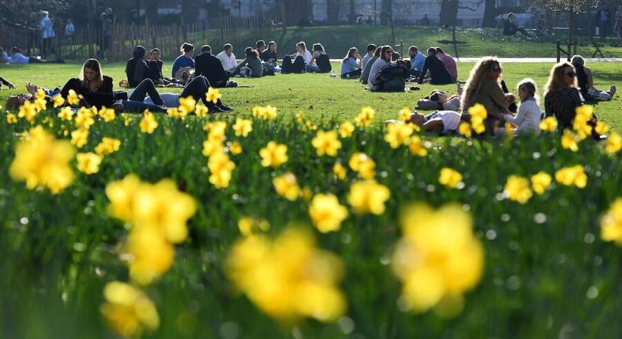 Nordeuropa oplever et meget tidligt forår, men økonomisk peger pilen fortsat på vinter.