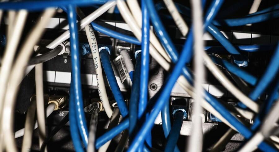 Det nye bredbåndsselskab, Fastspeed, har fået sin første, store aftale på plads. Det bliver TDC, der skal transportere datatrafikken fra Fastspeeds kunder rundt i Danmark og til udlandet. Arkivfoto: Simon Læssøe, Ritzau Scanpix