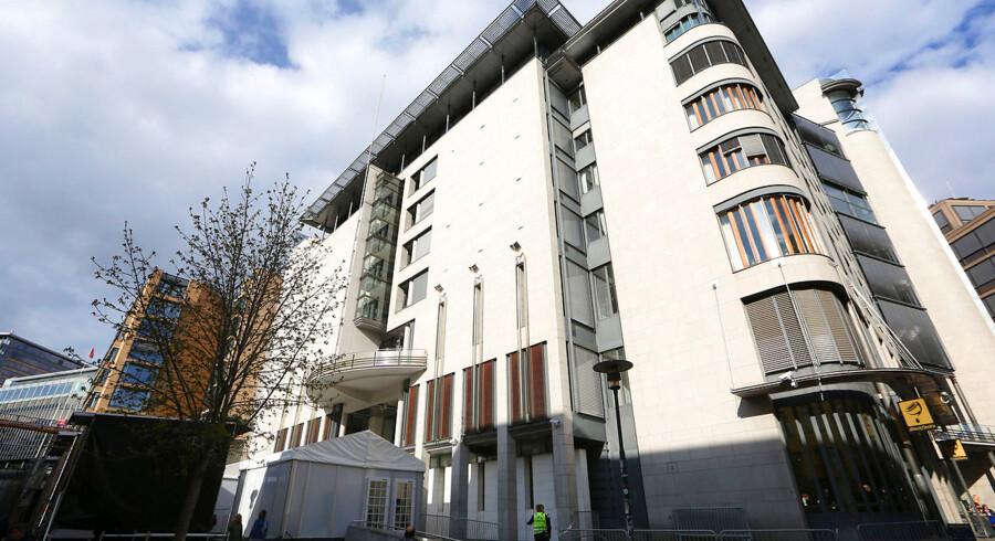 Tinghuset i Oslo, hvor den somaliske kvinde mandag blev idømt fængselsstraf.
