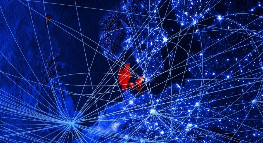 Den digitale førsteplads i Europa, som Danmark har bestridt i en tid, er i fare. Andre lande haler hastigt ind på os. Arkivfoto: Iris/Ritzau Scanpix