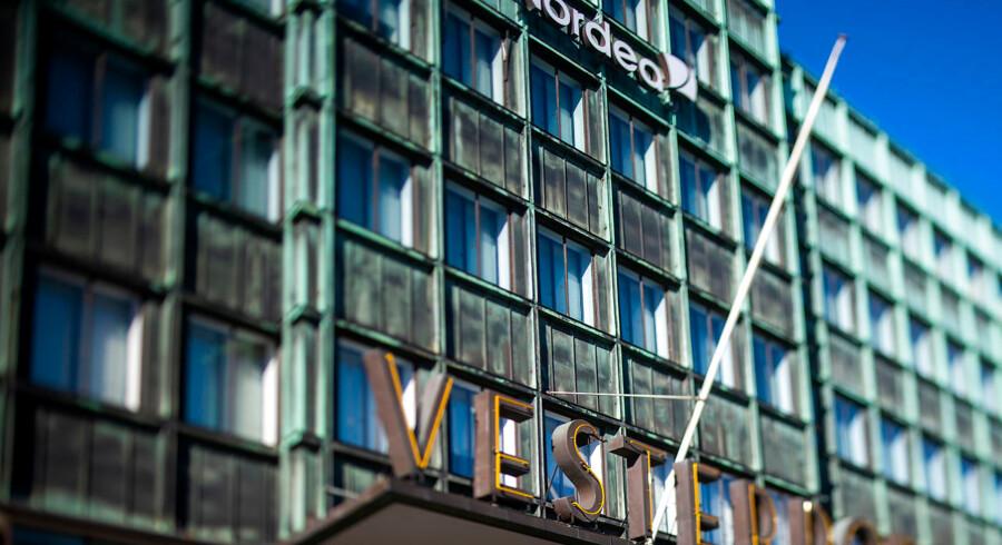 Det er i Nordeas filial på Vesterport i København, der har haft suspekte transaktioner flydende gennem i årrækken fra 2004 til 2014.