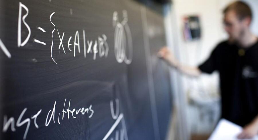 Sdiste år fik pigerne i matematik skriftlig på A-niveau i gennemsnit 8,2 i årskarakter, mens drengene i gennemsnit lå på 7,8.
