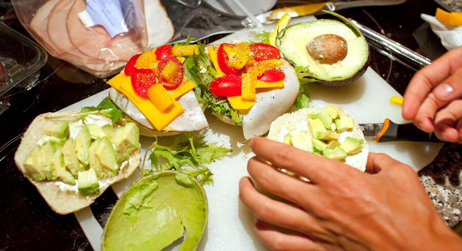 Arkivfoto. Mistanken mod Klaus O begyndte, da en kollega fandt et hvid pulver i sin sandwich.