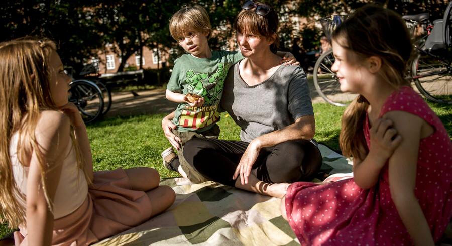 Arkivfoto. Børnefamilierne bliver i højere grad boende i København, og det har blandt andet medført et stigende indbyggertal i kommunen.