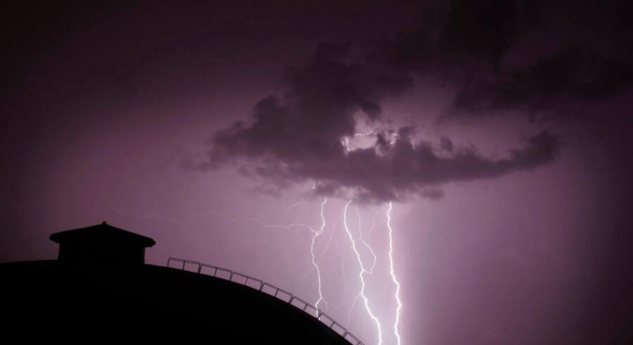 Kunstig intelligens kan blandt andet bruges til at advare detaljeret i tilfælde af skybrud.