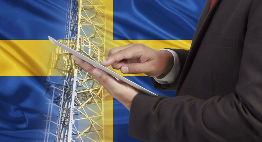 Sikkerheden bag de kommende 5G-supermobilnet vil blive skærpet, og alle leverandører og deres udstyr vil blive nøje undersøgt – ellers kan den svenske regering trække i nødbremsen. Arkivfoto: Iris/Ritzau Scanpix