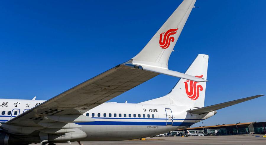 Boeing sagde i en erklæring onsdag, at MAX 8 og MAX 9-fly bør holdes på jorden.