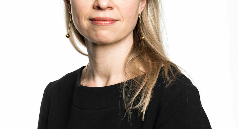 Ida Ebbensgaard kan både spejle vagtelæg og synge fra højskolesangboen. Foto: Ritzau Scanpix
