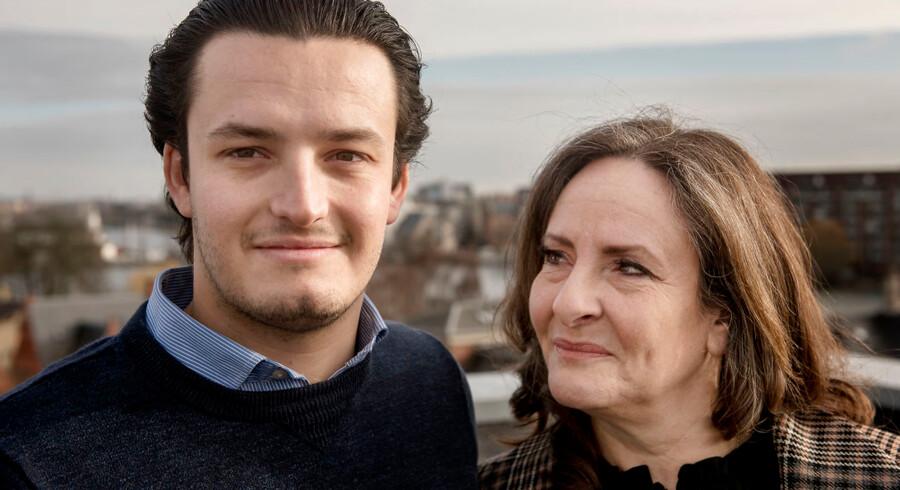 Anja Monrad er i dag direktør i IT-virksomheden Dell EMC. Hun har kravlet op ad karrierestigen, og selv om hun fødte sønnen David, lige da hun var blevet chef første gang, forhindrede det hende ikke i at arbejde. Nu har hun et opråb til andre mødre.