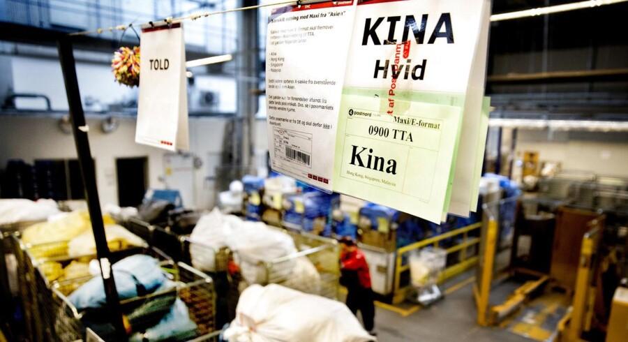 Der er fejl i hver fjerde pakker fra Kina, viser en stikprøvekontrol.