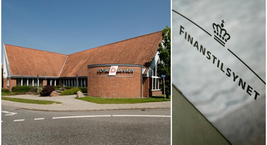 Finanstilsynet blander sig nu direkte i et opgør om magten over den børsnoterede lokalbank Totalbanken, der har hovedsæde her i den vestfynske by Aarup.