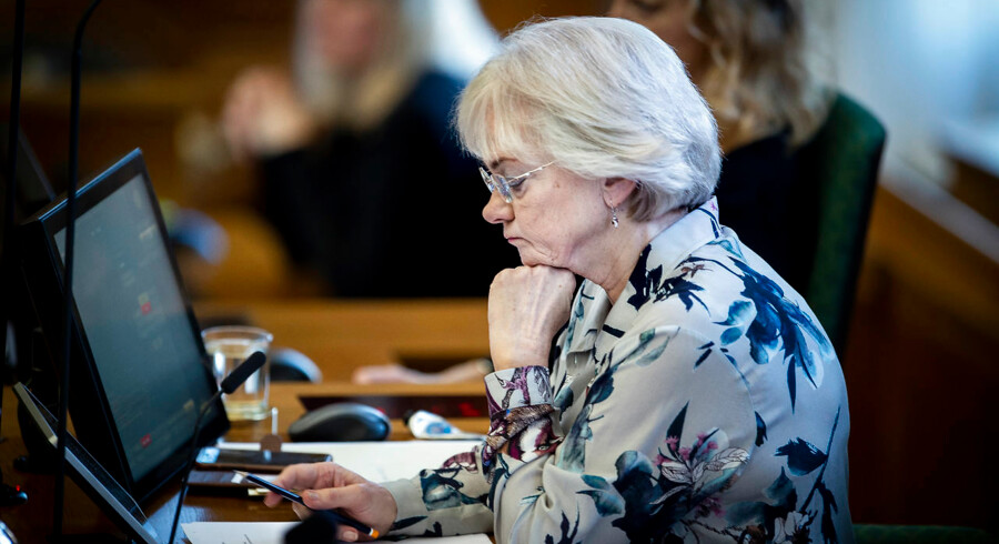 Folketingets formand, Pia Kjærsgaard (DF), har gennem hele sit politiske virke været vant til blæst om sin person.