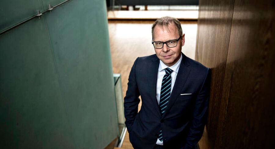 Koncernchef i Nykredit Michael Rasmussen.